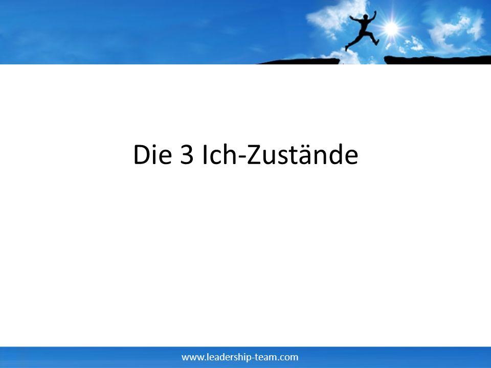 www.leadership-team.com Die 3 Ich-Zustände