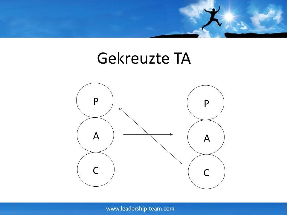 www.leadership-team.com Gekreuzte TA P A C P A C