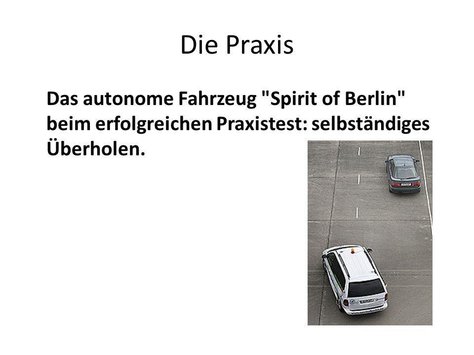 Die Praxis Das autonome Fahrzeug