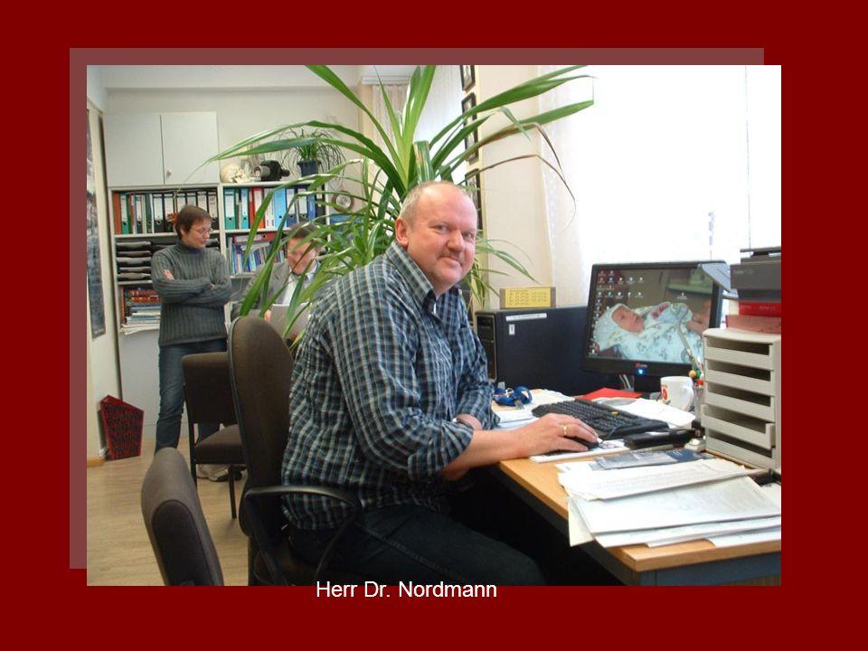 Herr Dr. Nordmann