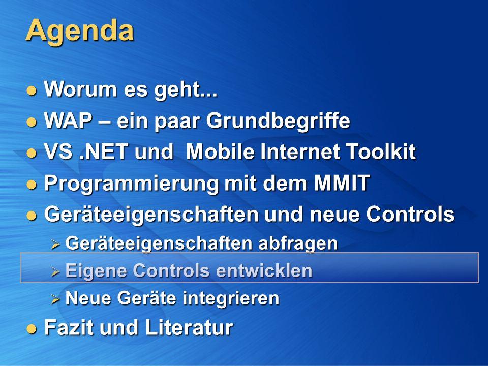 Agenda Worum es geht... Worum es geht...