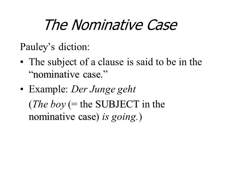 masculinefeminineneuterplural Nominative Accusative der ein kein der ein kein die eine keine die eine keine das ein kein das ein kein die ---- keine die ---- keine den einen keinen den einen keinen das ein kein das ein kein die eine keine die eine keine die ---- keine die ---- keine other der-words Accusative Case diesen, jeden, welchen, manchen, solchen