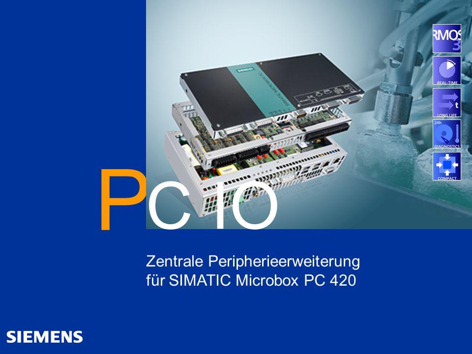 © Siemens AG 2005 - Änderungen vorbehalten A&D SE IPC, 03/2007 25 Automation and Drives 25 SIMATIC PC - the more industrial PC Allgemein Überblick Hig