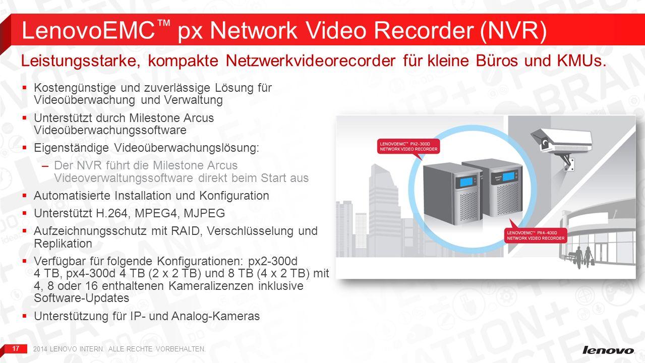 17 Kostengünstige und zuverlässige Lösung für Videoüberwachung und Verwaltung Unterstützt durch Milestone Arcus Videoüberwachungssoftware Eigenständig
