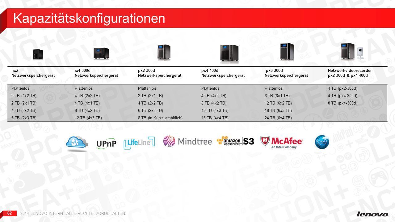 62 ix2 Netzwerkspeichergerät ix4-300d Netzwerkspeichergerät px2-300d Netzwerkspeichergerät px4-400d Netzwerkspeichergerät px6-300d Netzwerkspeicherger
