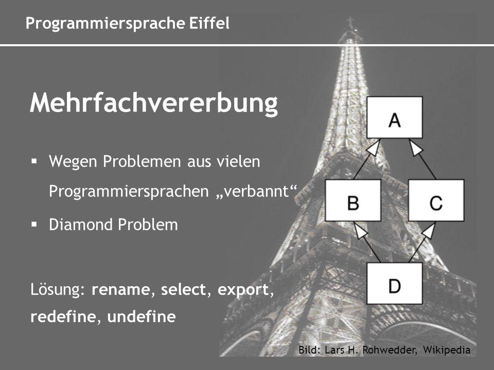 Programmiersprache Eiffel Hello Eiffel.