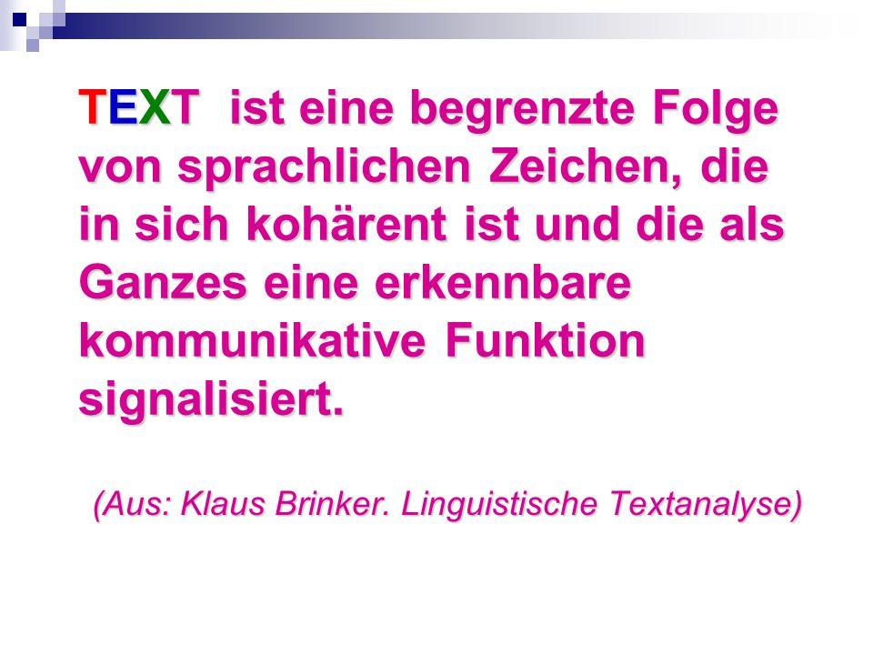 (Aus: Klaus Brinker.