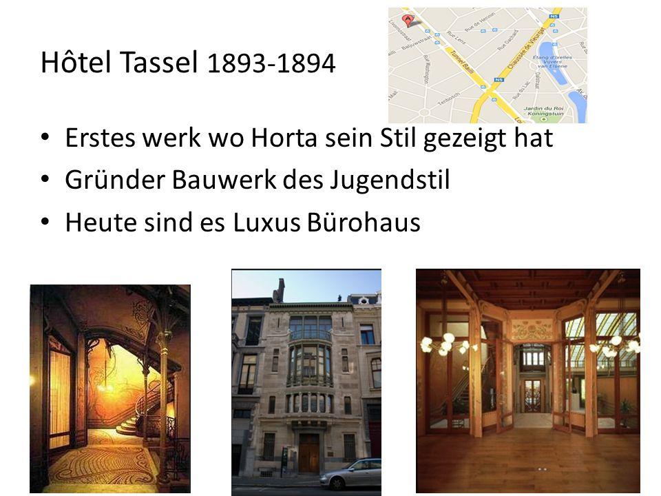 Hôtel Solvay 1895-1898 Das am besten aufbewahrten Horta Haus Innen nichts verändert Heute Sitz von einem Mode Haus Durfte so viel Geld wie er viel ausgeben Finanziert von der Solvay Familie