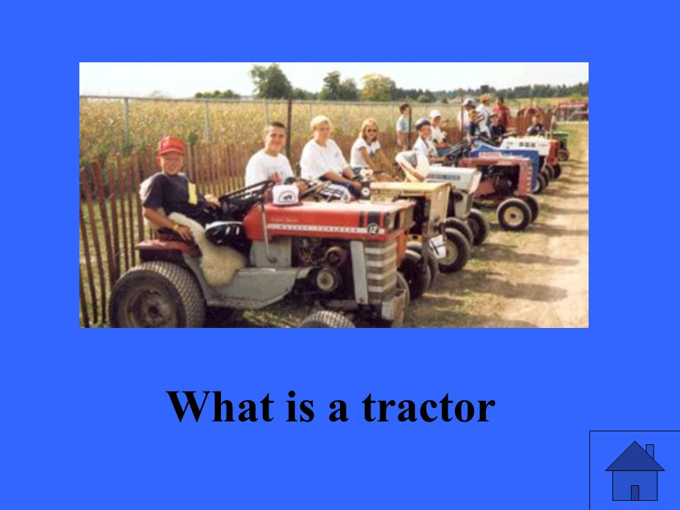 What is a tractor