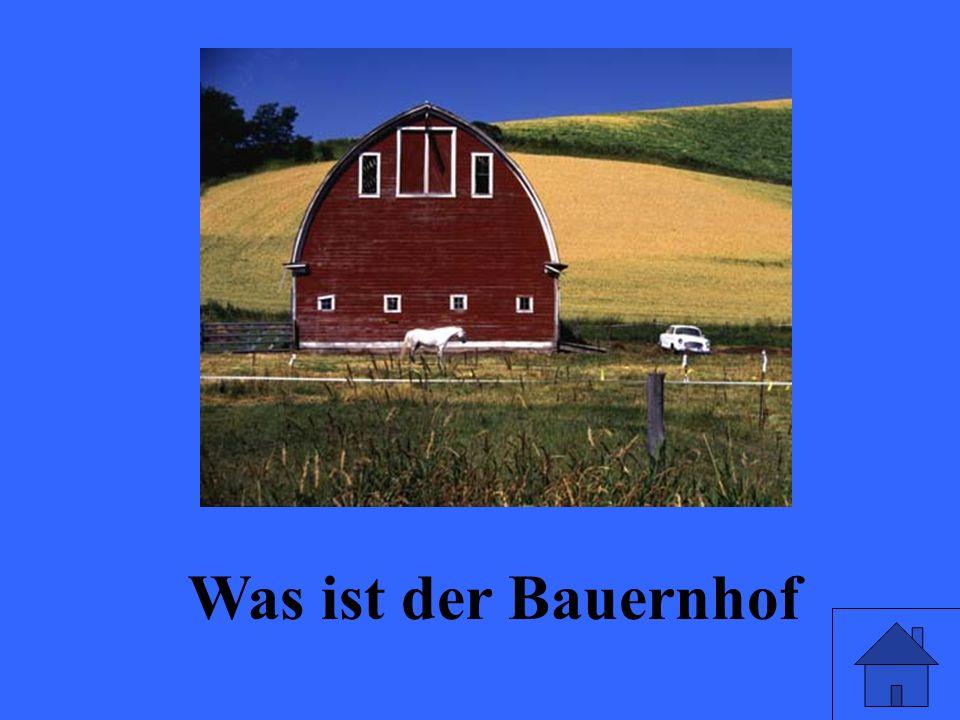Was ist der Bauernhof