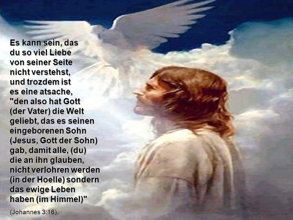 fuer kommplet und genuegend angenommen haben, von Gott aus Liebe zu seine kindern adoptiert worden und er hat ihnen das hat ihnen das ewige Leben im H