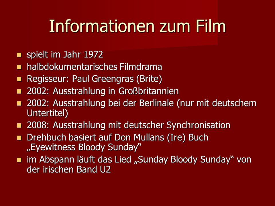 Informationen zum Film spielt im Jahr 1972 spielt im Jahr 1972 halbdokumentarisches Filmdrama halbdokumentarisches Filmdrama Regisseur: Paul Greengras