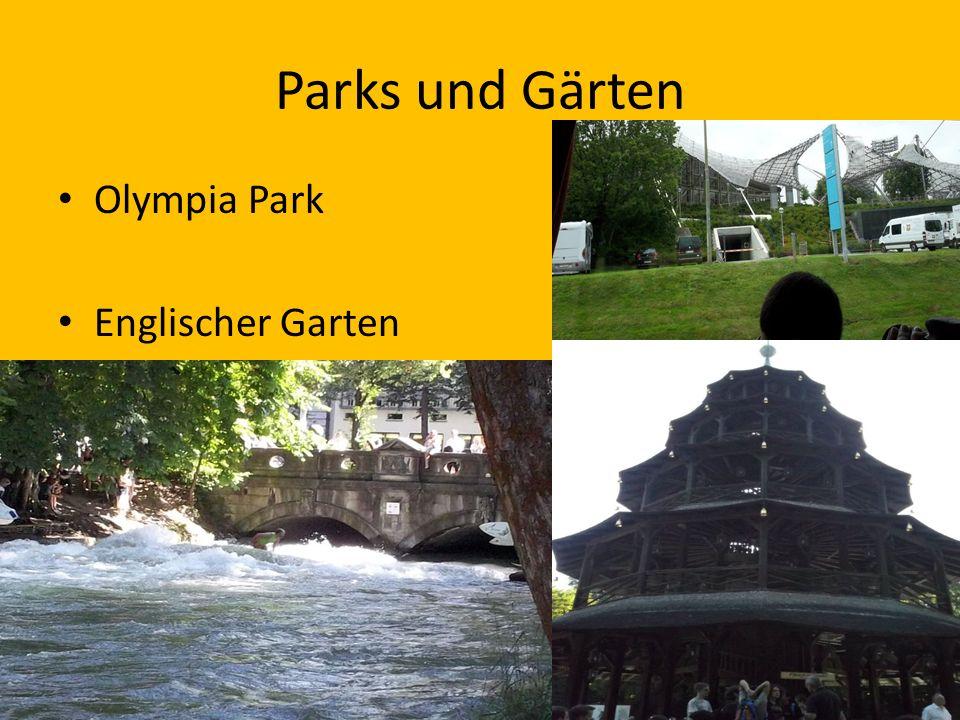 Parks und Gärten Olympia Park Englischer Garten