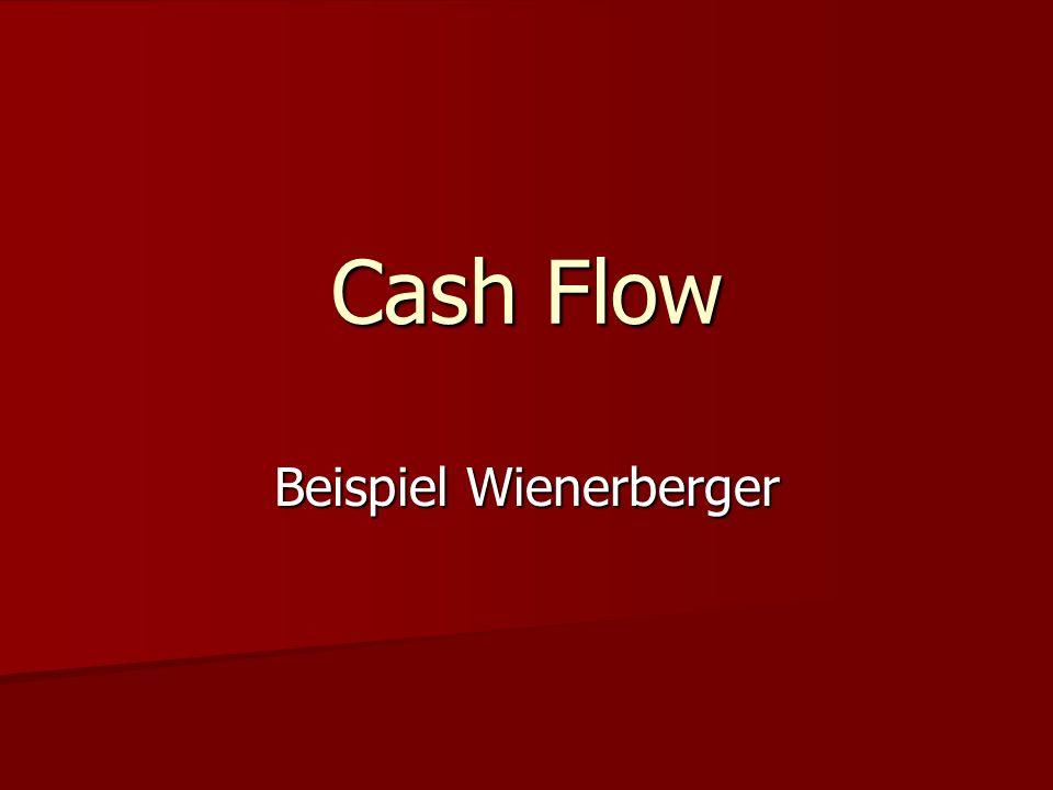 Was ist ein Cash Flow.
