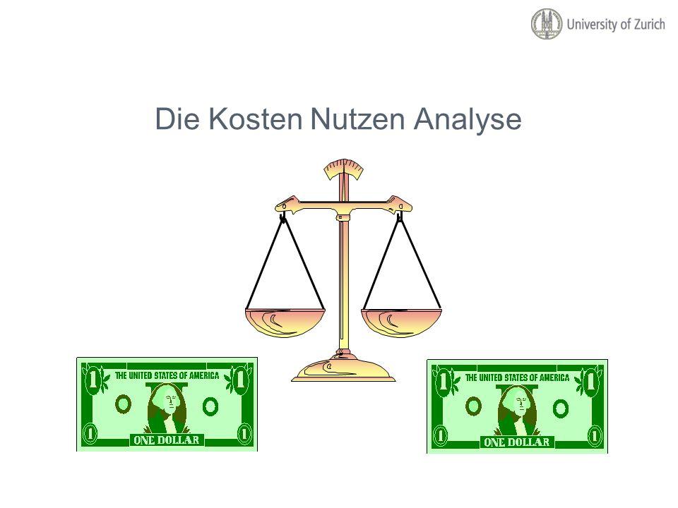 Die Kosten Nutzen Analyse