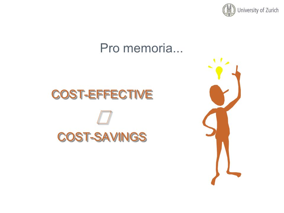 COST-EFFECTIVECOST-SAVINGSCOST-EFFECTIVECOST-SAVINGS Pro memoria...