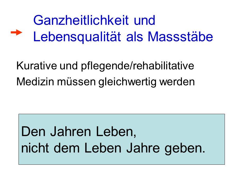 Grössenordnungen CH 2002 Gesamtausgaben der Krankenversicherer: Fr.