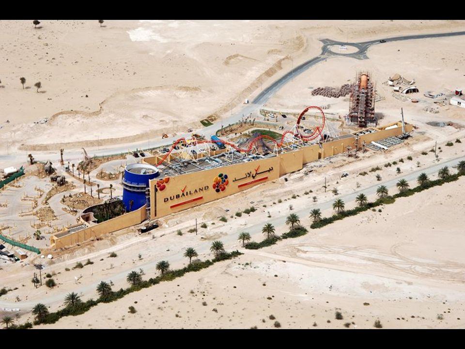 Dubailand Zur Zeit ist das Walt Disney World Resort, in Orlando die grösste zusammenhängende Erlebnispark- Kombination und damit der grösste lokale Arbeitgeber in den USA mit 58000 Angestellten.