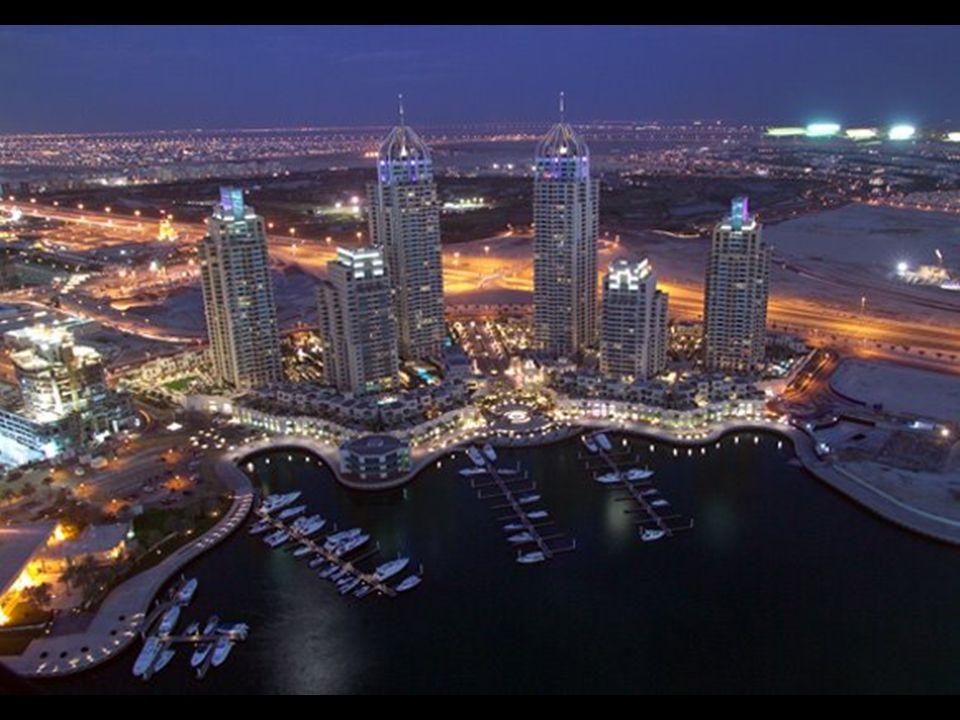 Am Hafen von Dubai sind über 200 Wolkenkratzer geplant.