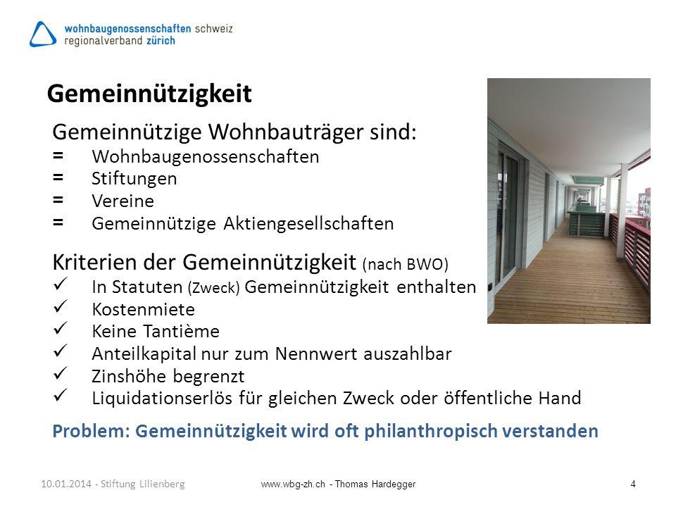 4 Gemeinnützigkeit Gemeinnützige Wohnbauträger sind: =Wohnbaugenossenschaften =Stiftungen =Vereine =Gemeinnützige Aktiengesellschaften Kriterien der G