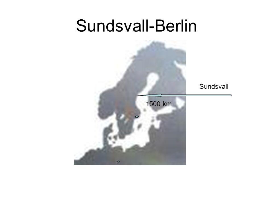 Sundsvall-Berlin 1500 km Sundsvall
