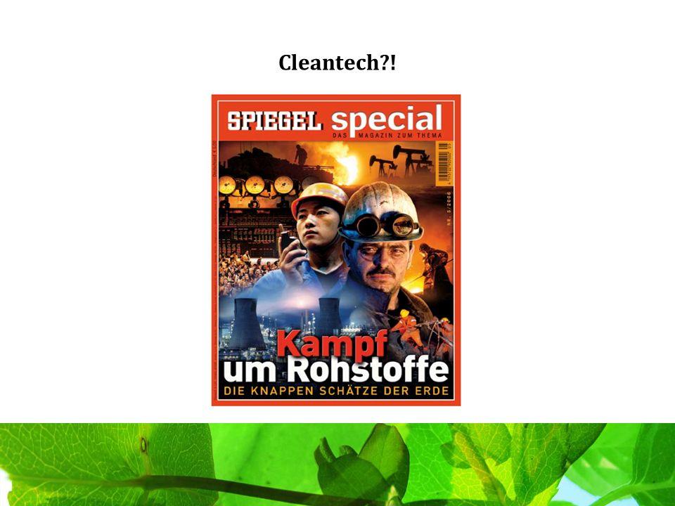 Cleantech?!