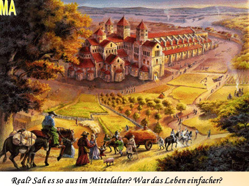 Der Lehrer als Hexer verbrannt... Einblick ins Mittelalter Gesellschaftsordnung um 1350