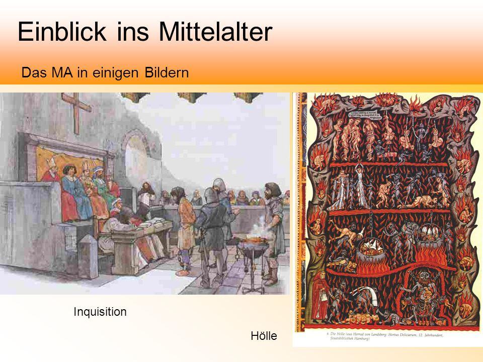Einblick ins Mittelalter Das MA in einigen Bildern Inquisition Hölle