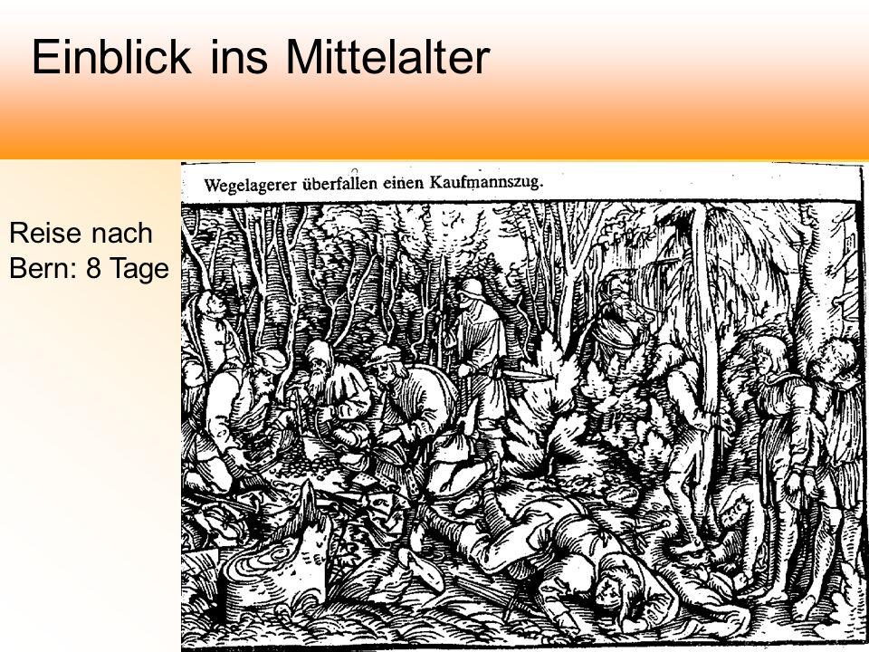 Reise nach Bern: 8 Tage Einblick ins Mittelalter
