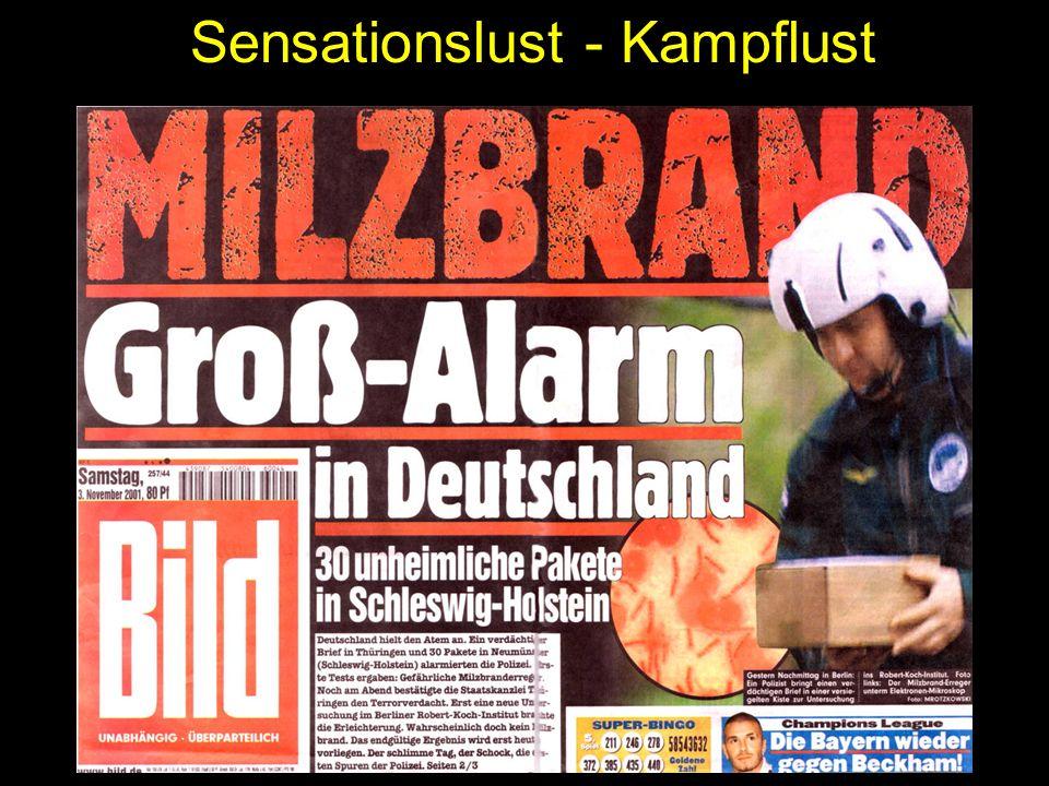 Sensationslust - Kampflust
