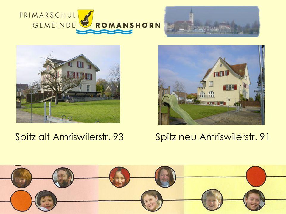 Spitz alt Amriswilerstr. 93Spitz neu Amriswilerstr. 91