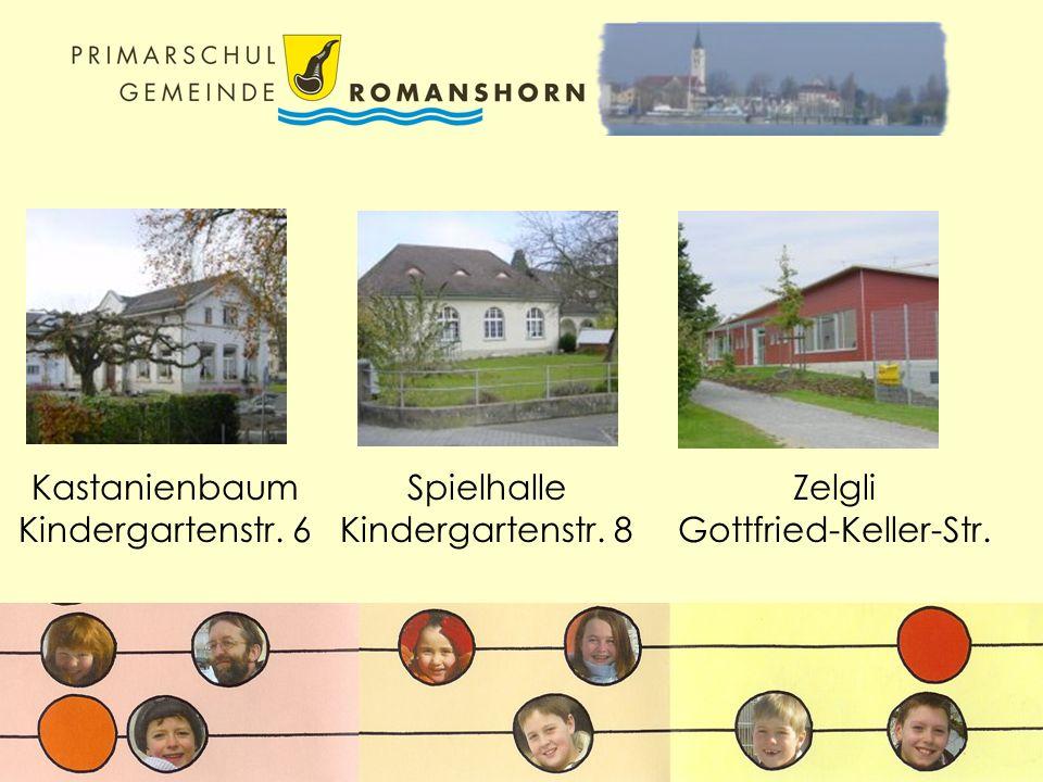 Kastanienbaum Kindergartenstr. 6 Spielhalle Kindergartenstr. 8 Zelgli Gottfried-Keller-Str.