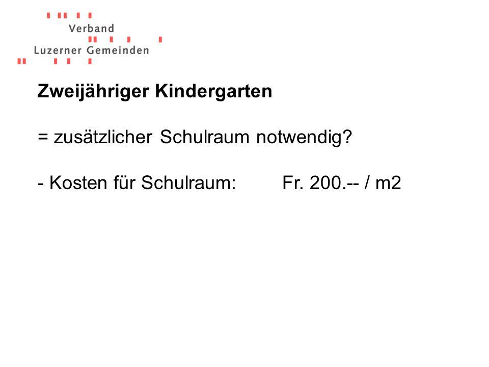 Eckwerte: 16 - 24 Lernende > 24 Lernende = + 1 Lektion pro Lernende < 16 Lernende =./.