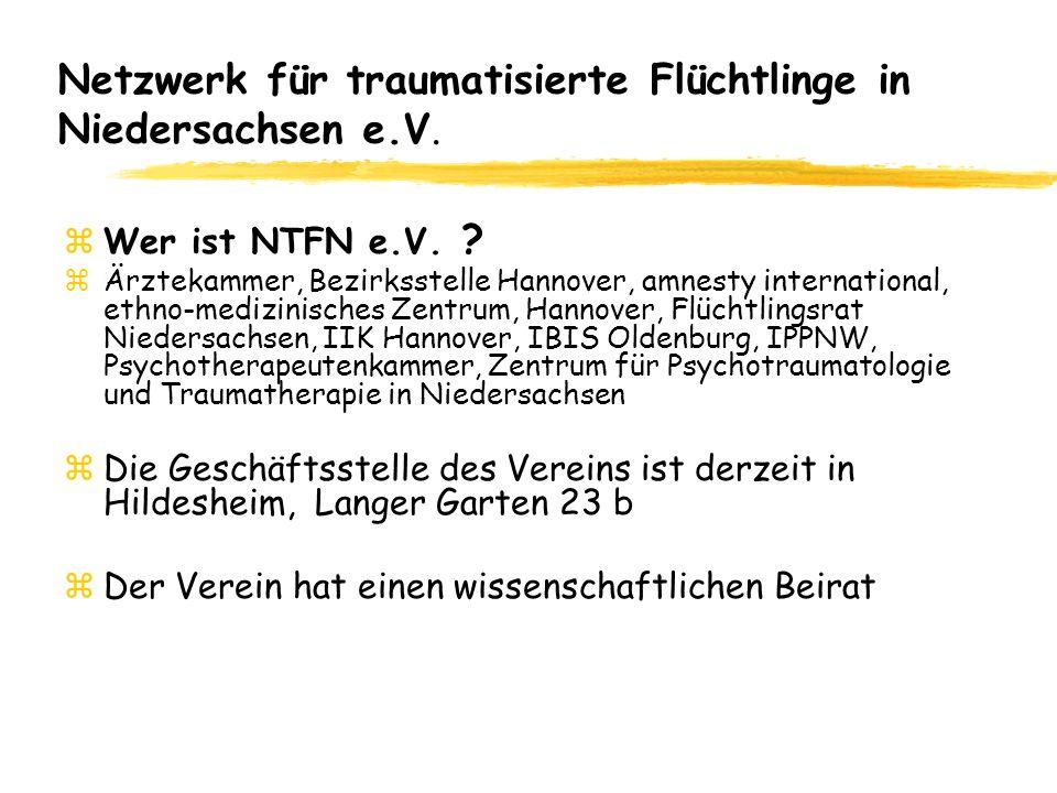 Netzwerk für traumatisierte Flüchtlinge in Niedersachsen e.V.