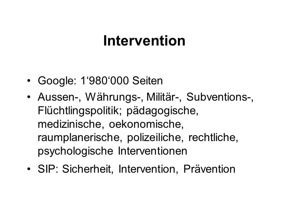 Intervention Google: 1980000 Seiten Aussen-, Währungs-, Militär-, Subventions-, Flüchtlingspolitik; pädagogische, medizinische, oekonomische, raumplan