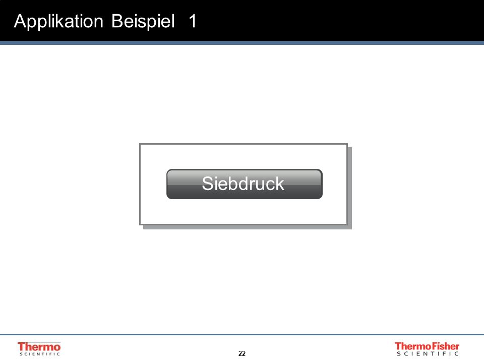 22 Screen Printing Applikation Beispiel 1 Siebdruck