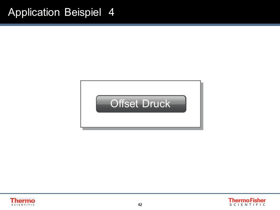 42 Application Beispiel 4 Offset Druck