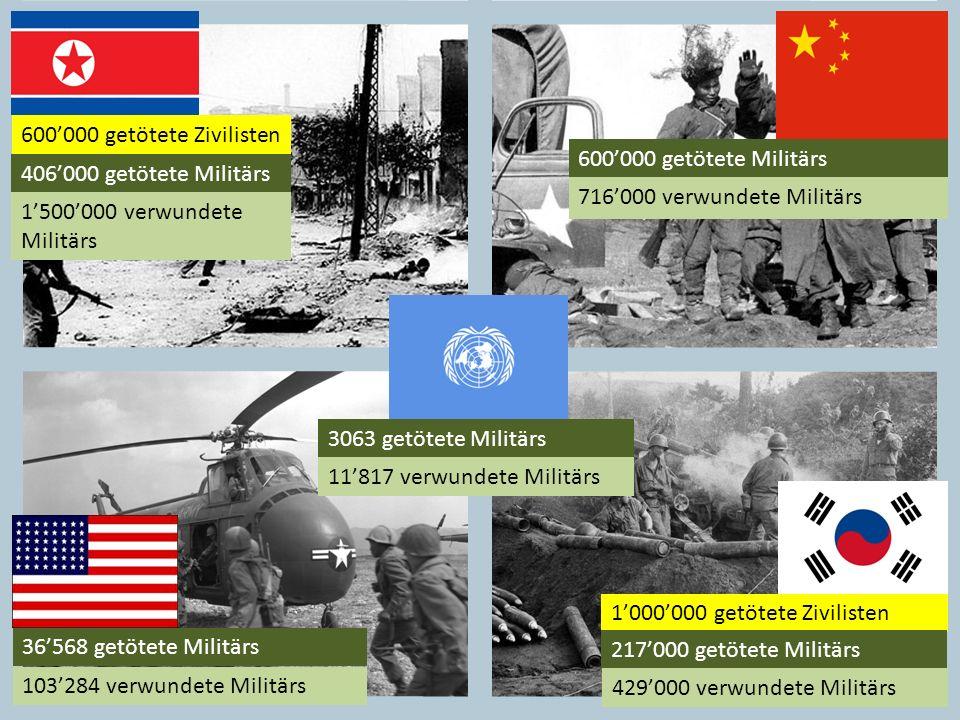 600000 getötete Militärs 716000 verwundete Militärs 600000 getötete Zivilisten 406000 getötete Militärs 1500000 verwundete Militärs 36568 getötete Mil