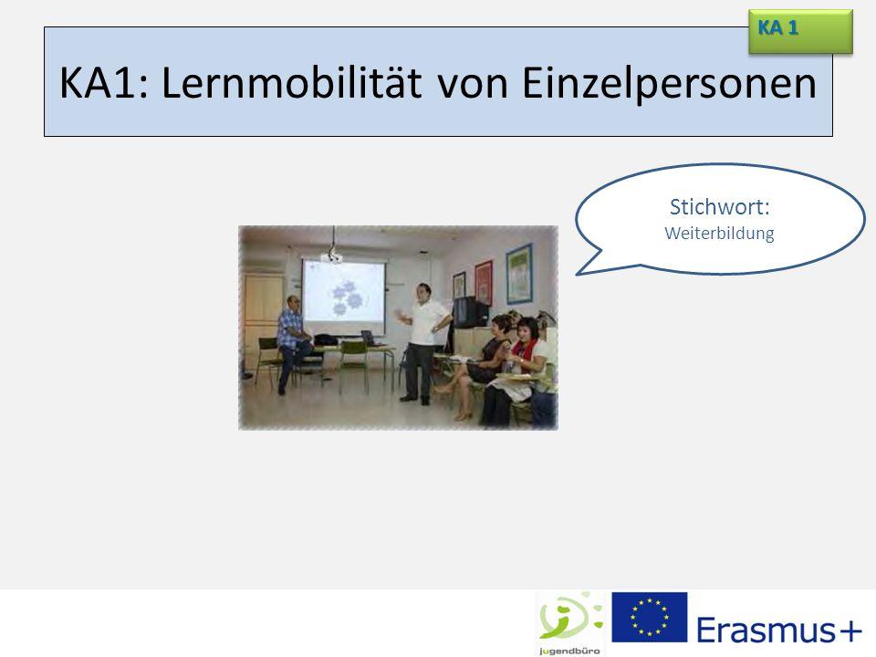 Auswahlkriterien KA 1 Wer.Das gesamte Personal der Bildungseinrichtung Was.