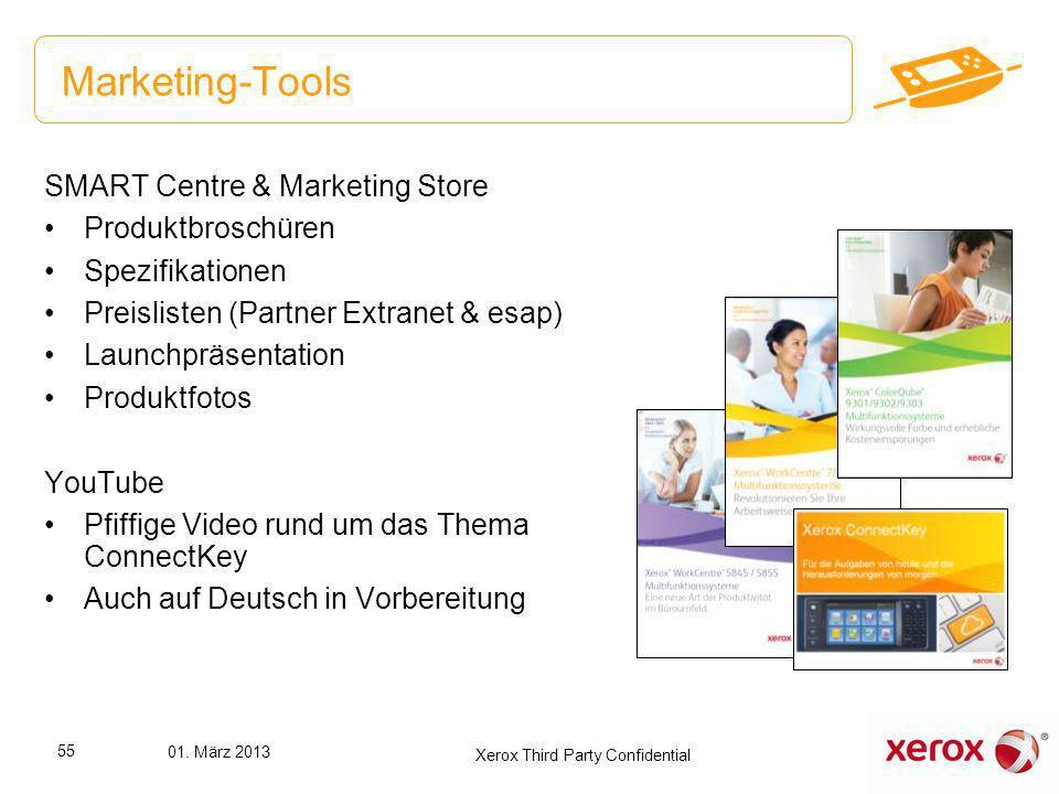 Marketing-Tools SMART Centre & Marketing Store Produktbroschüren Spezifikationen Preislisten (Partner Extranet & esap) Launchpräsentation Produktfotos