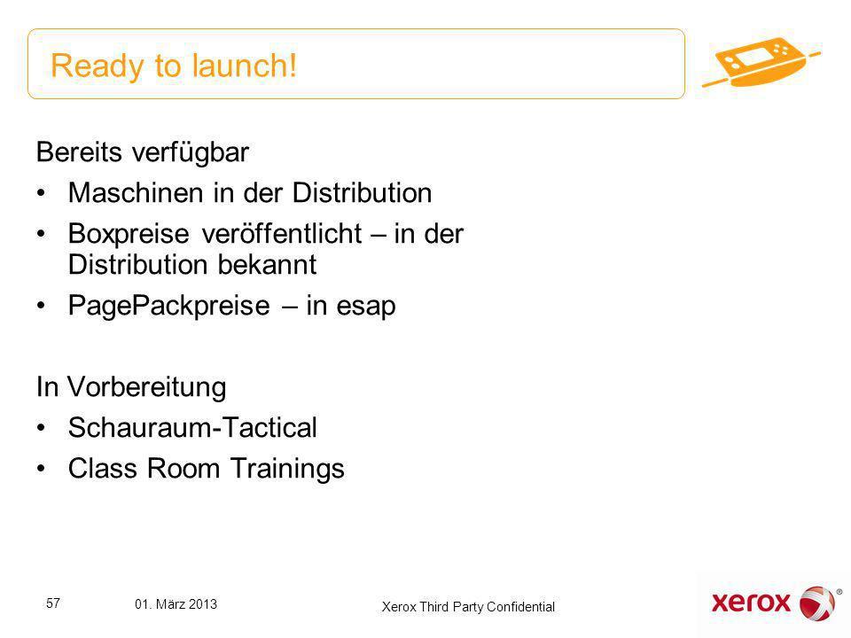 Ready to launch! Bereits verfügbar Maschinen in der Distribution Boxpreise veröffentlicht – in der Distribution bekannt PagePackpreise – in esap In Vo