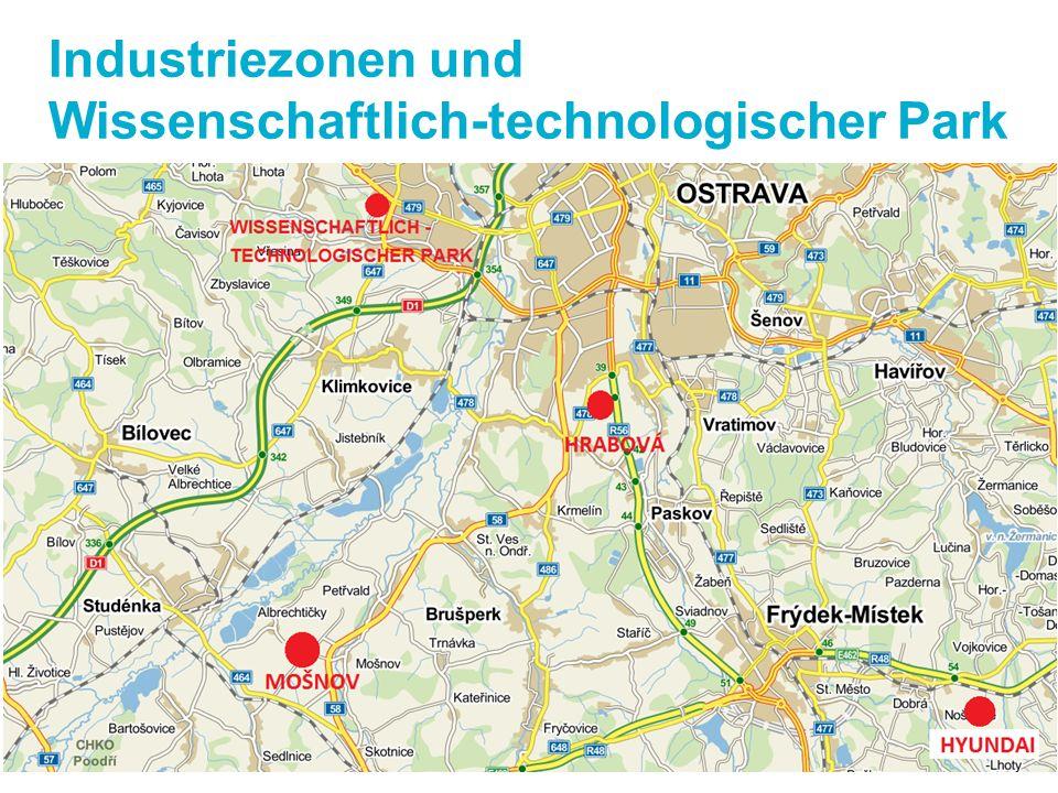 Industriezonen und Wissenschaftlich-technologischer Park