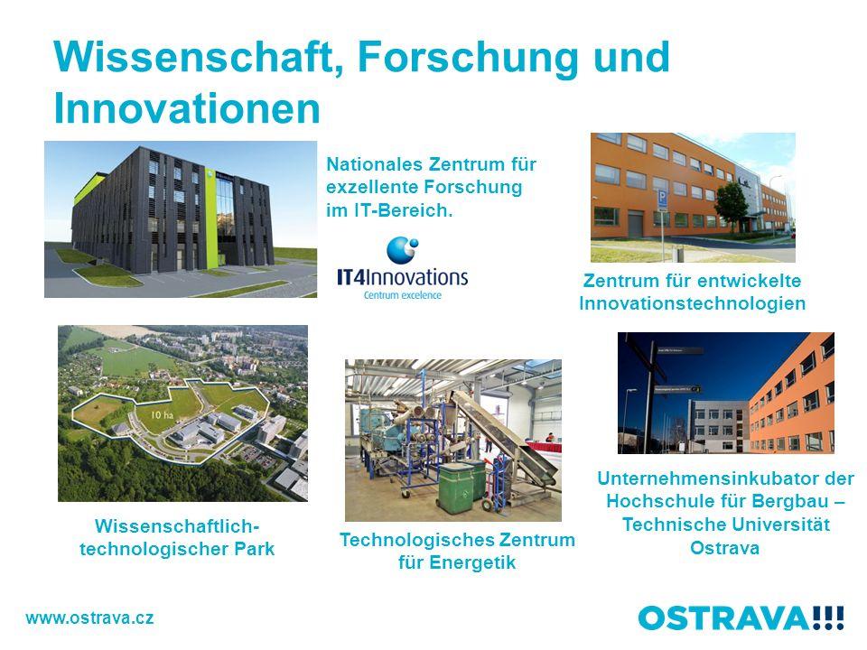Wissenschaft, Forschung und Innovationen Wissenschaftlich- technologischer Park Nationales Zentrum für exzellente Forschung im IT-Bereich.