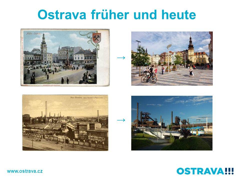 Ostrava früher und heute www.ostrava.cz