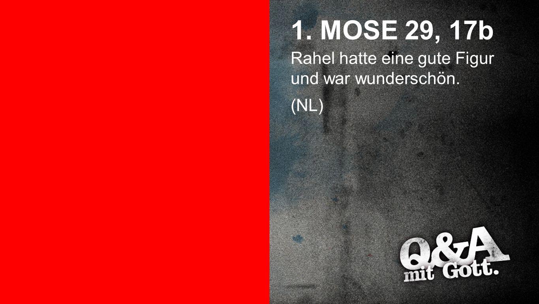1. Mose 29, 17a 1. MOSE 29, 17a Lea hatte glanzlose Augen. (NL)