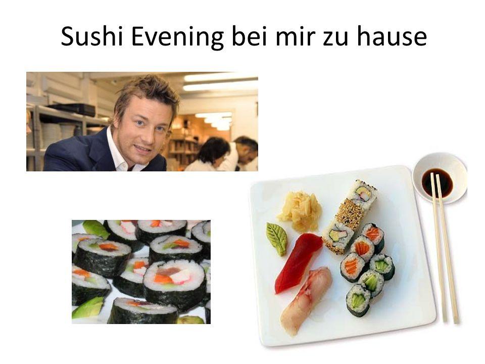 Sushi Evening bei mir zu hause