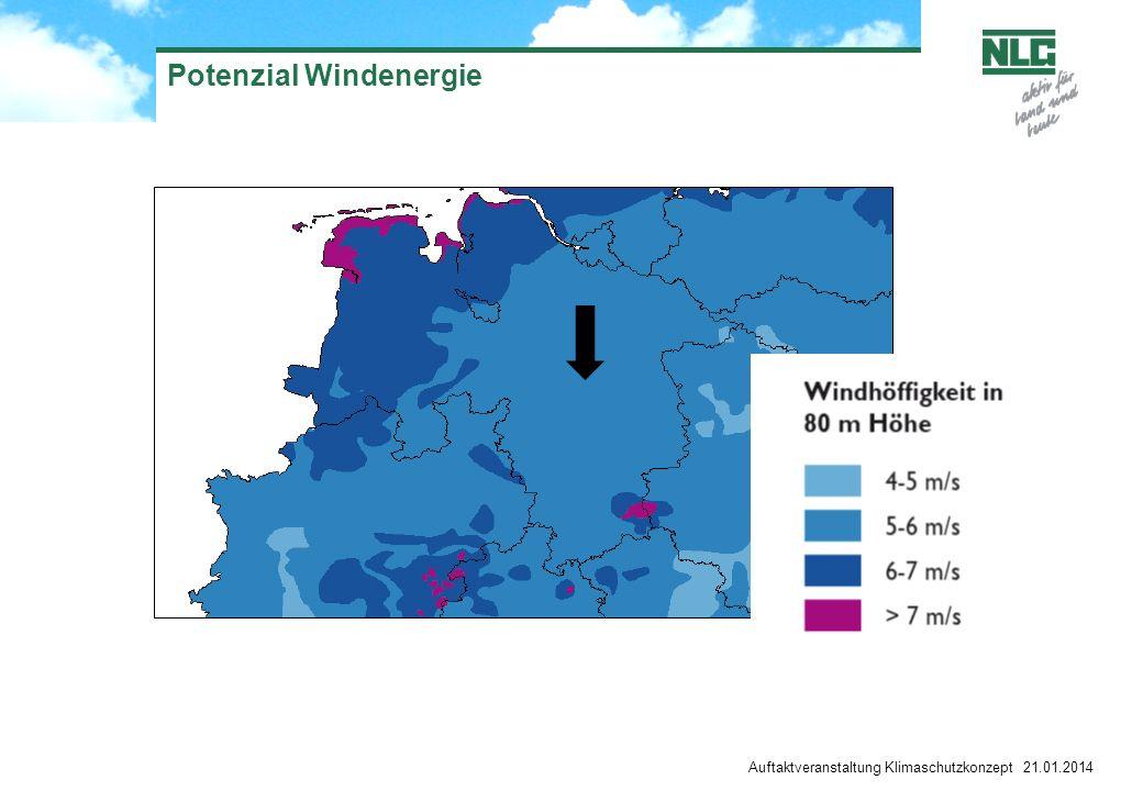 Erneuerbare Energien - Windenergie In Abhängigkeit von planerischen und wirtschaftlichen Bedingungen können Standorte für Windenergie sinnvoll sein.
