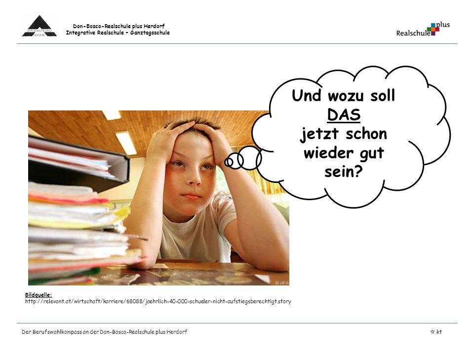 Don-Bosco-Realschule plus Herdorf Integrative Realschule – Ganztagsschule Bildquelle: http://relevant.at/wirtschaft/karriere/68088/jaehrlich-40-000-sc