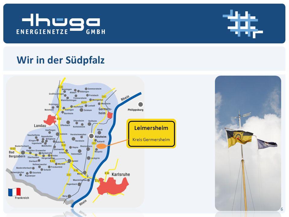 ERDGAS Vorstellung im Rahmen der Bürgerinformation 29. April, Leimersheim