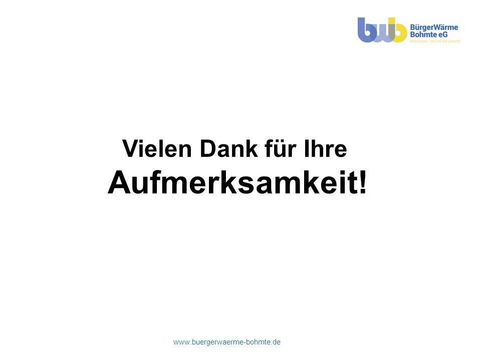 www.buergerwaerme-bohmte.de Vielen Dank für Ihre Aufmerksamkeit!
